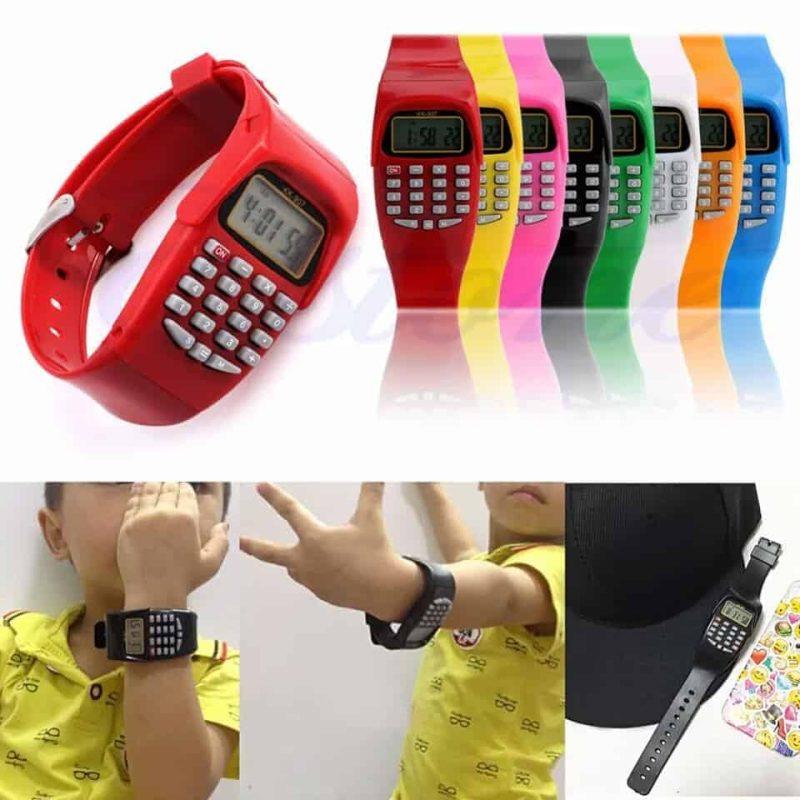 Ura kalkulator za otroke