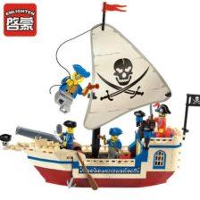 Legokocke ladja - Pirati s karibov
