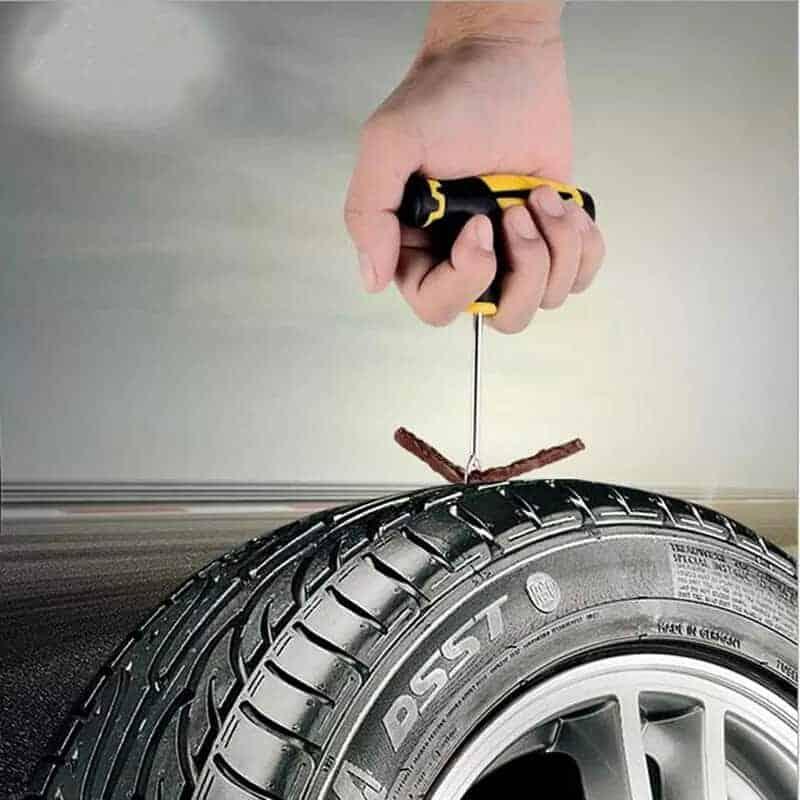 Komplet za popravilo avto pnevmatike