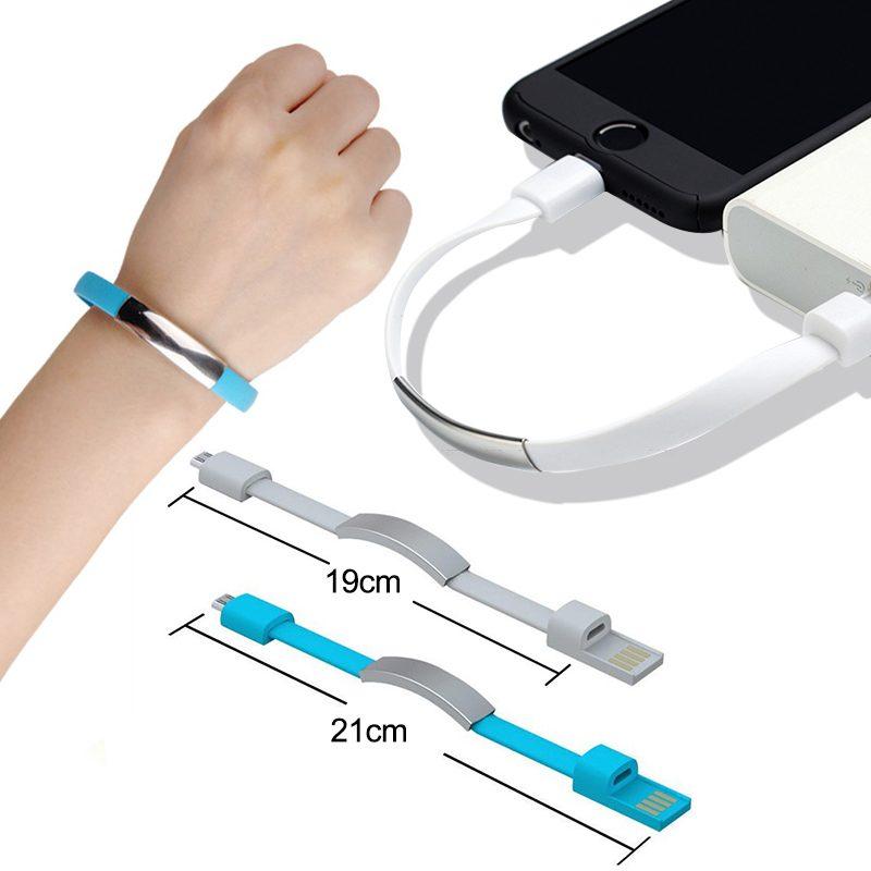 USB  zapestnica -polnilec vedno z vami (črne barve)