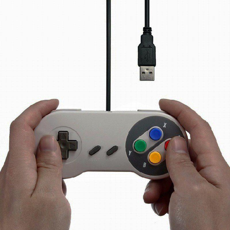 Igralni kontroler USB Retro za PC, laptop