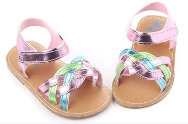 Sandalčki za punčko 9-12 mesecev