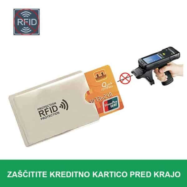 Zaščita kreditne kartice