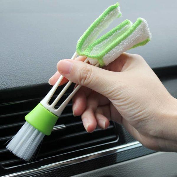 Čistilna krtača za čiščenje klim in ventilatorjev v avtu 1