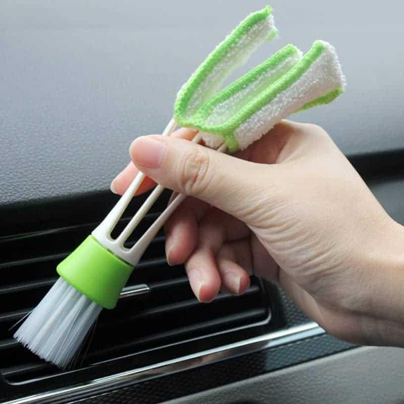 Čistilna krtača za čiščenje klim in ventilatorjev v avtu 2