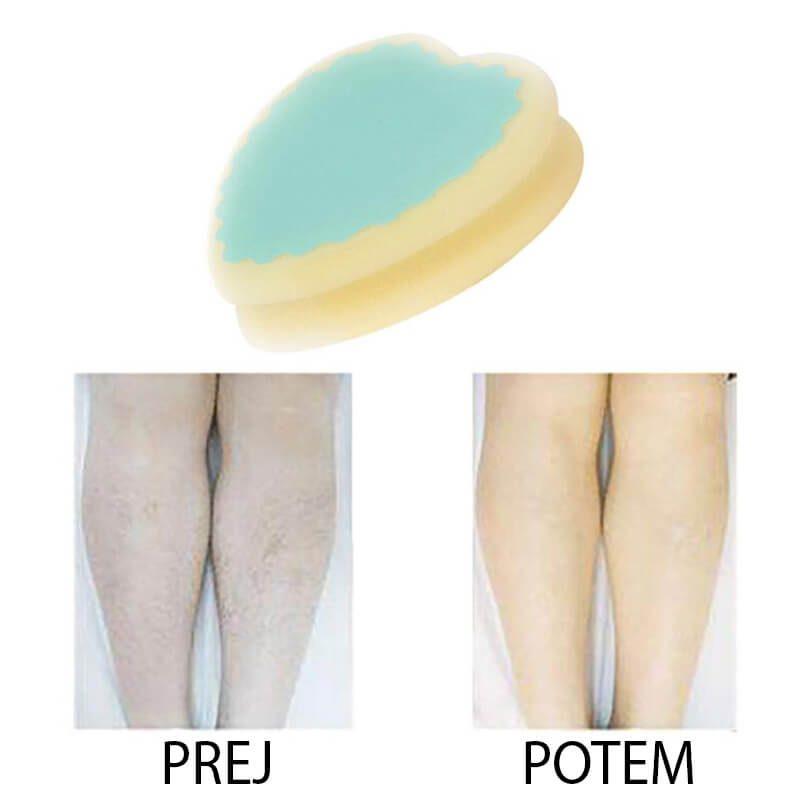 Magična gobica za depilacijo brez bolečin