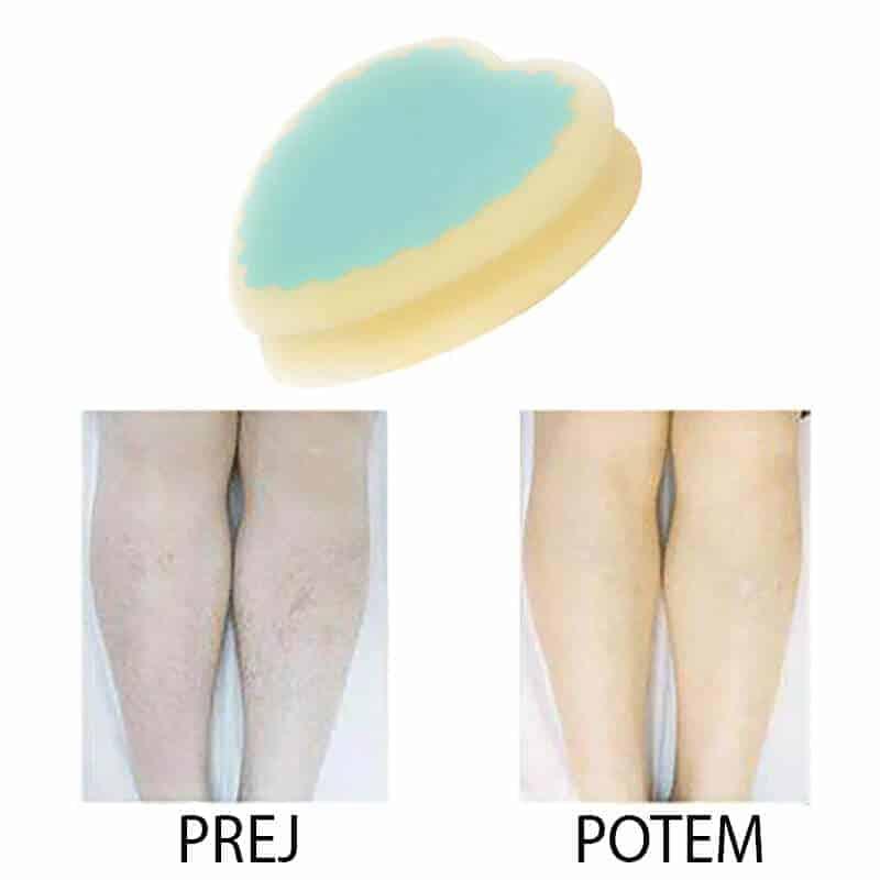 Magična gobica za depilacijo brez bolečin 2