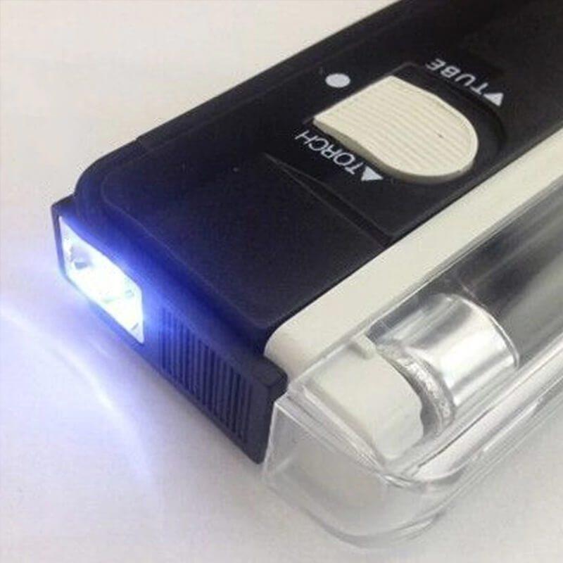 Prenosni UV detektor bankovcev