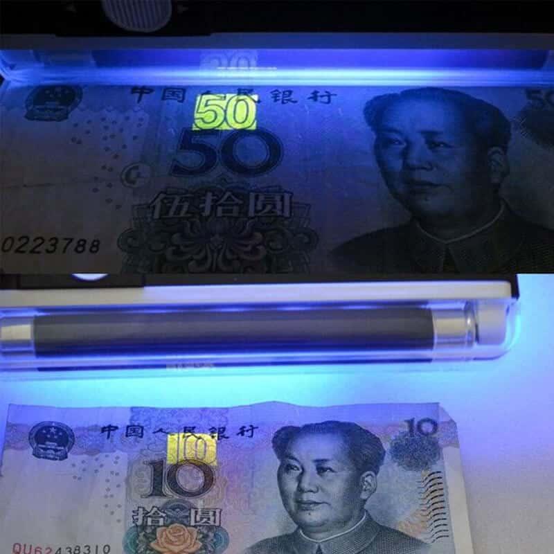 Prenosni UV detektor bankovcev 1