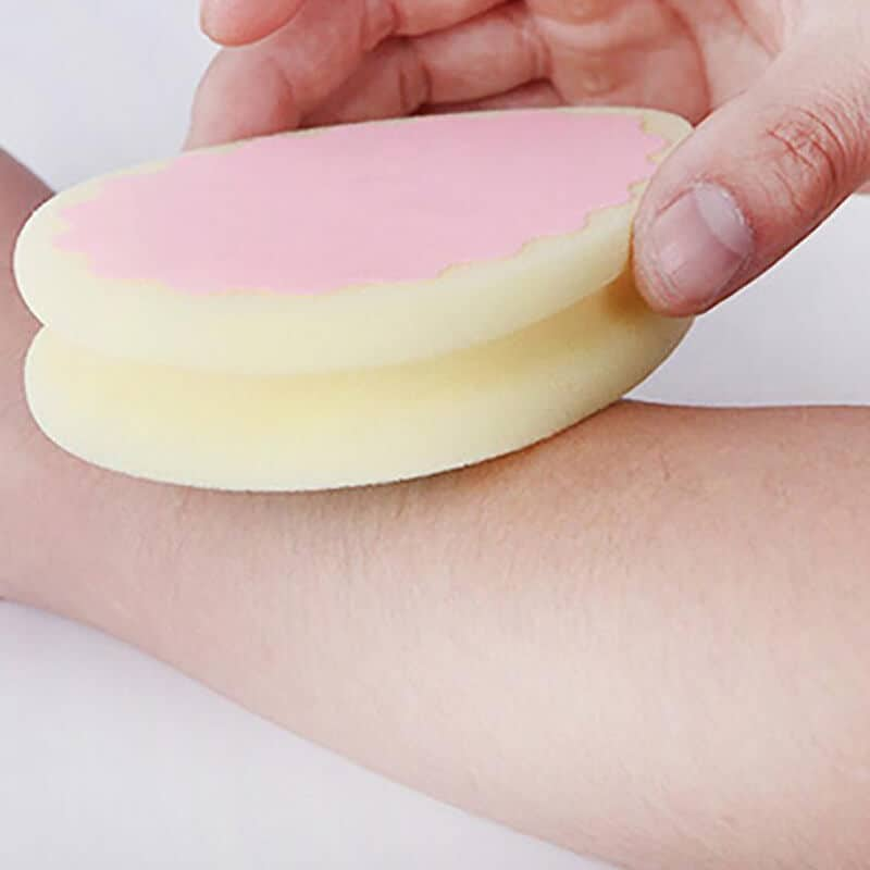 Magična gobica za depilacijo brez bolečin 4