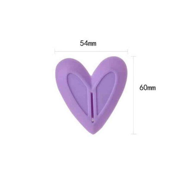 nastavek za brivnk v obliki srcka