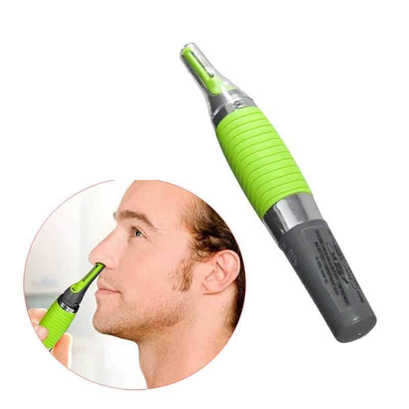 Strižnik za nos in ušesa z LED lučjo - odprta škatla 1