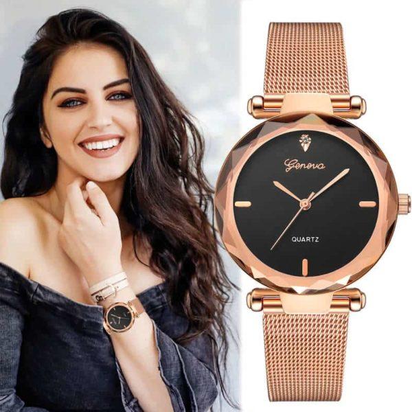 ženska ura modernega izgleda