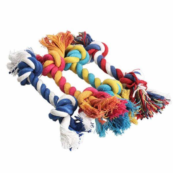 Igrača zvezane vrvice za pse 1
