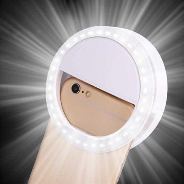 Led svetilka za selfije za mobitel 1