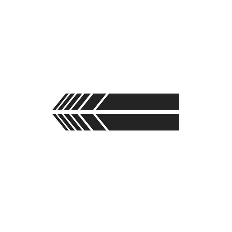 Nalepka za avto črne barve (1)