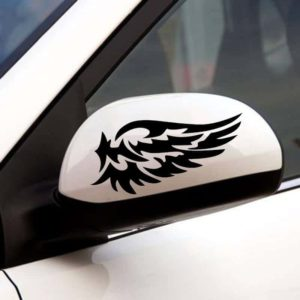 Nalepke za avtomobile v obliki kril