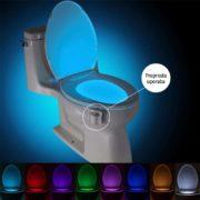 Nočna LED lučka za WC