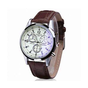 moška bela ura