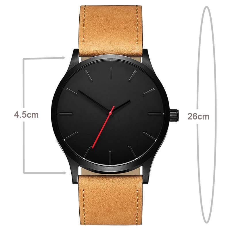 moška ura velikost