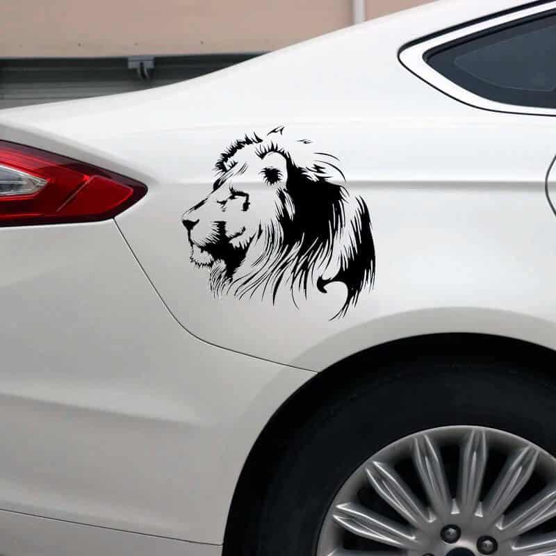 nalepka za avto lev