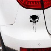 nalepka za avtomobile crna