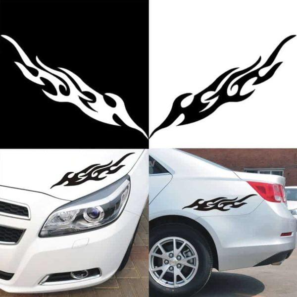 nalepke za avtomobile crne barve moderne