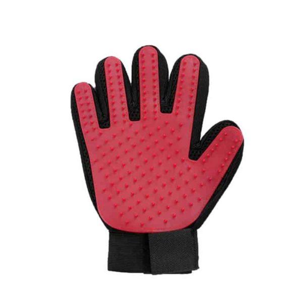 rokavica za odstranjevanje pasje dlake
