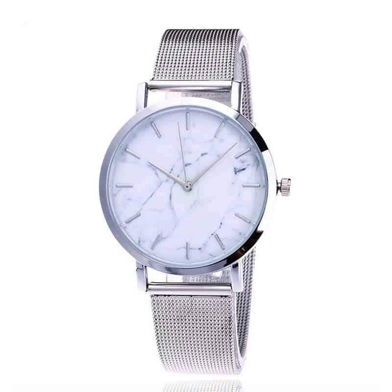 ženska ura srebrna Quartz