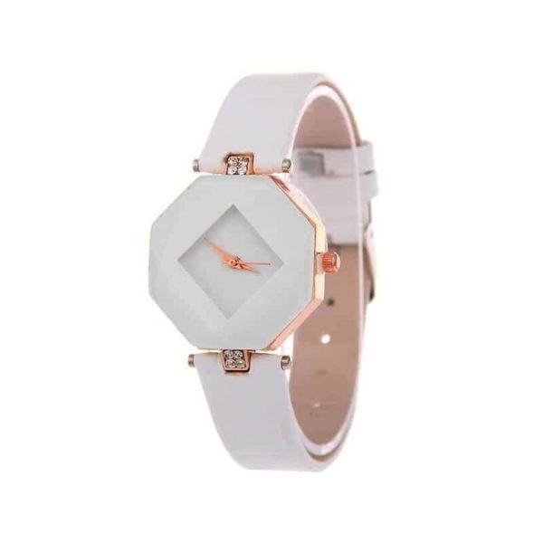 ženske ure bele barve