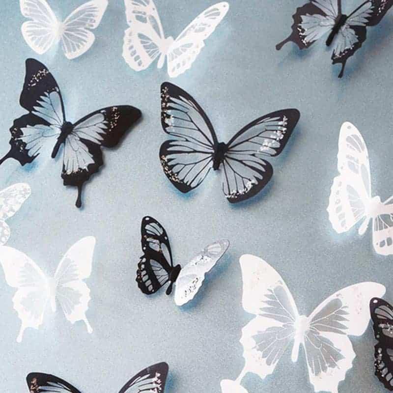 3D dekorativni metuljčki 1