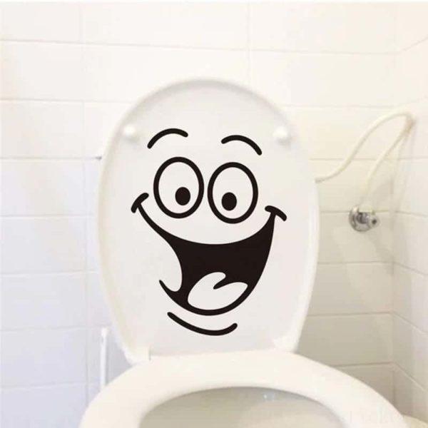 Nalepka za wc školjko