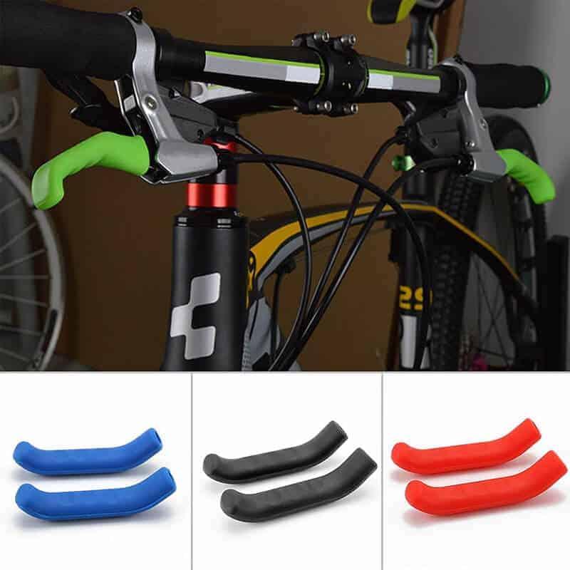 gumjaste ročice za zavore na kolesu