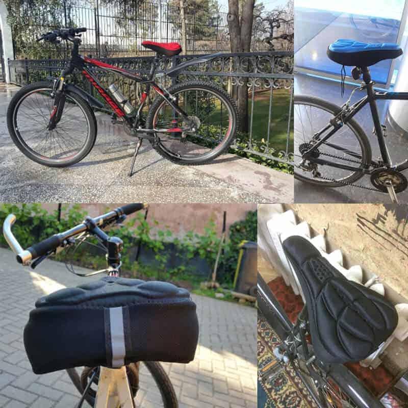 kolesarski sedež