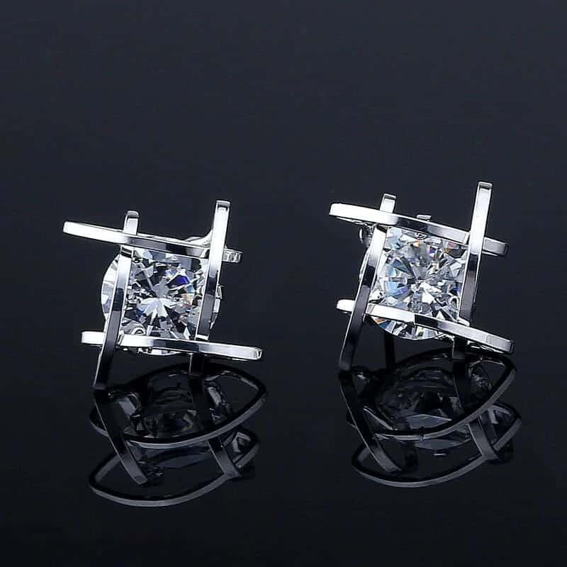 modni uhani za ženske s kristalom trendni