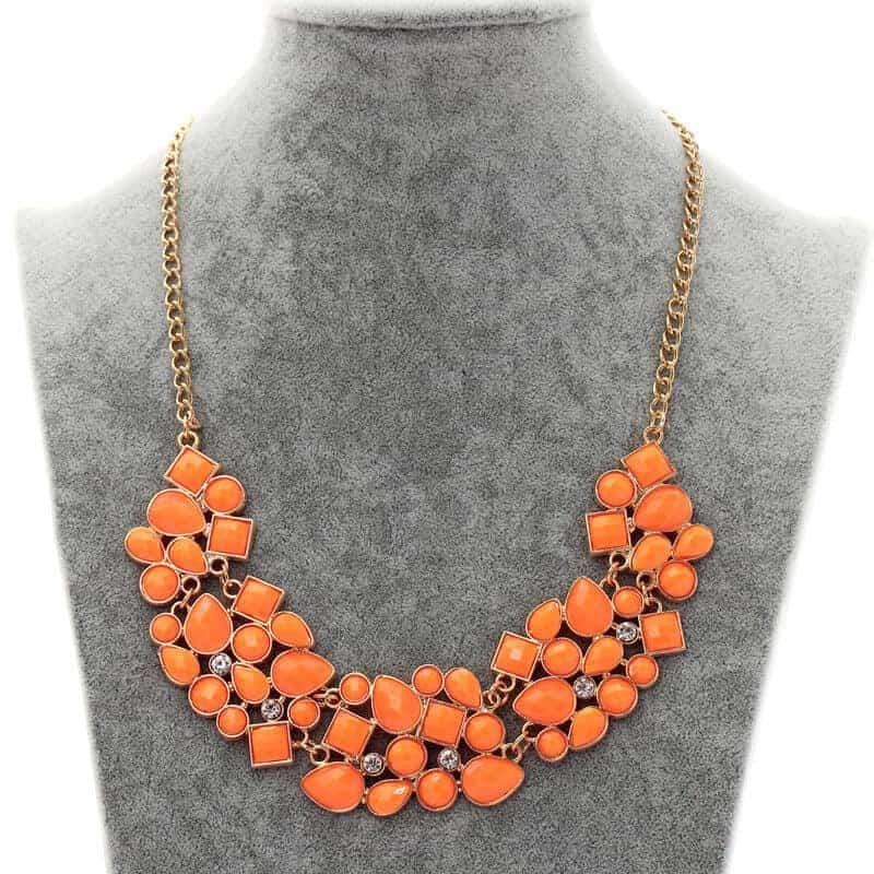 ogrlic s kristalčki oražna