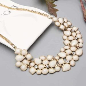 ogrlica s kristalčki