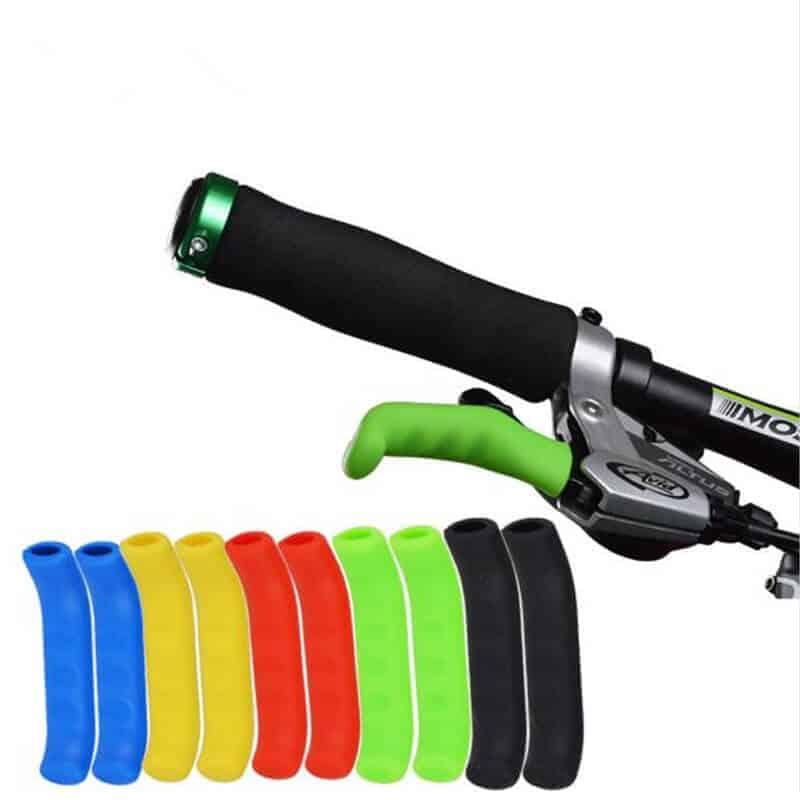 Gumjaste ročice za boljši oprijem pri kolesarskih zavornih ročicah - Različne barve 1