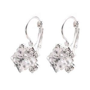 poceni uhani kristalni za ženske