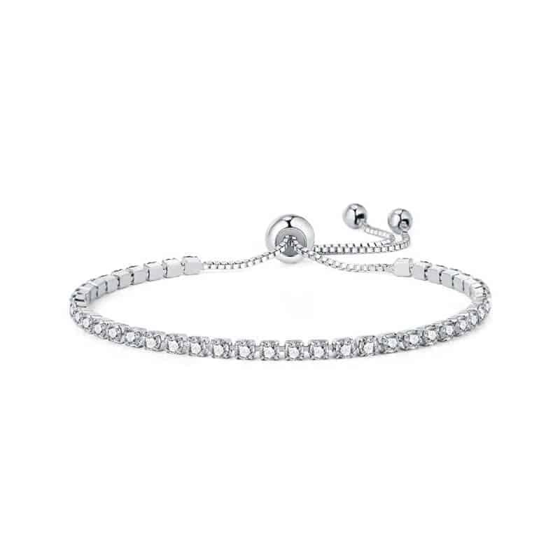 Moderna zapestnica z diamantki 1