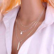 verižice srebrne za ženske