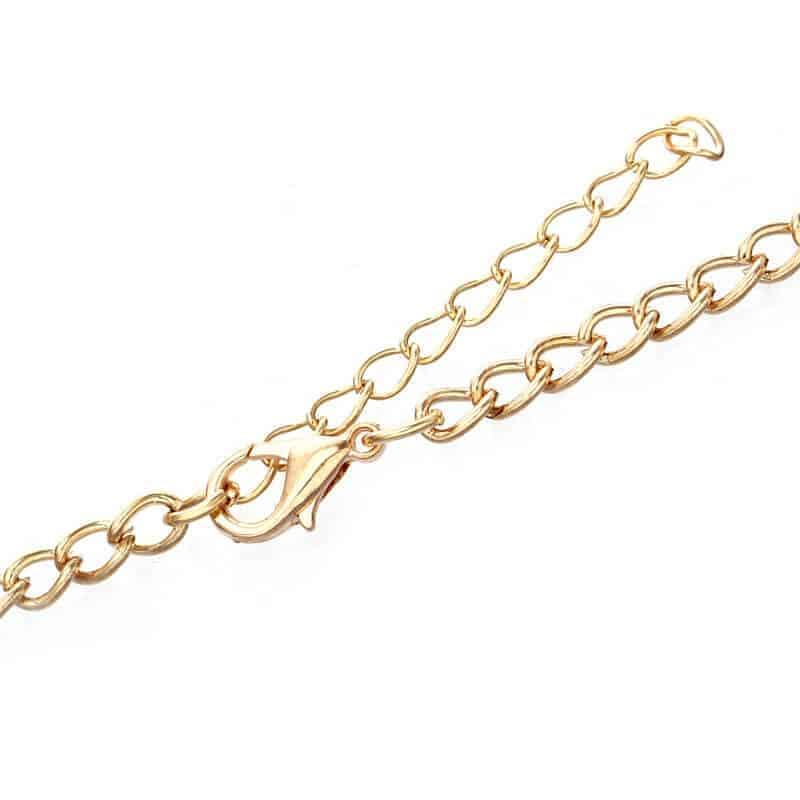 zlata verižica od ogrlice