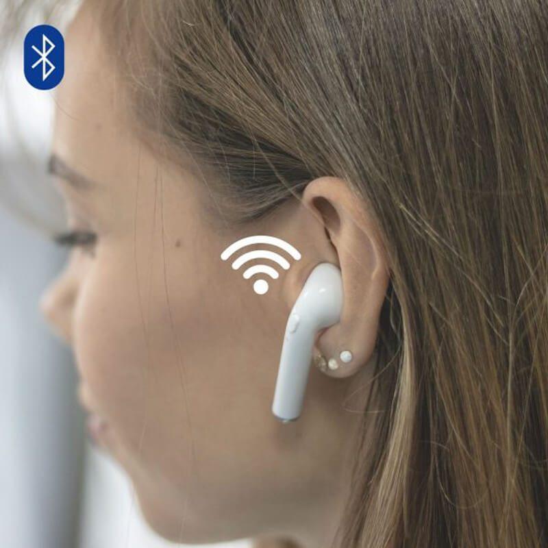 brezzicne slušalke iphone v beli barvi