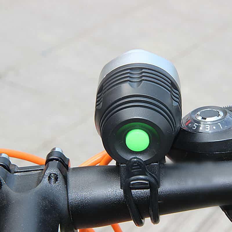 Luč za kolo - Q5 LED 3 funkcije - Vodoodporna 5