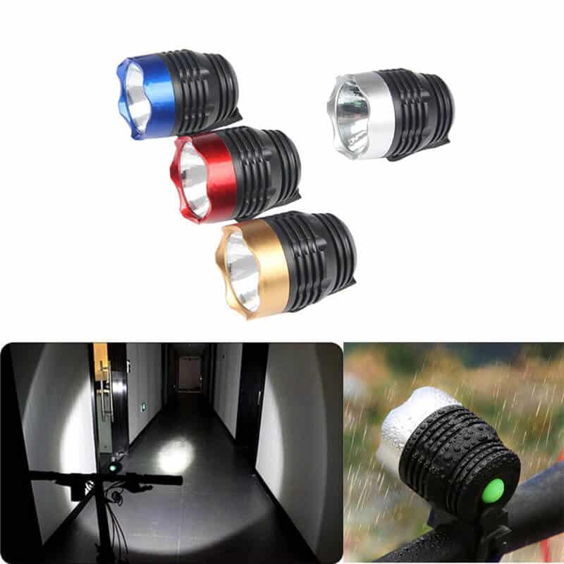 Luč za kolo - Q5 LED 3 funkcije - Vodoodporna 1