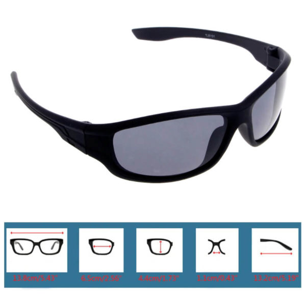 moška sončna očala velikost