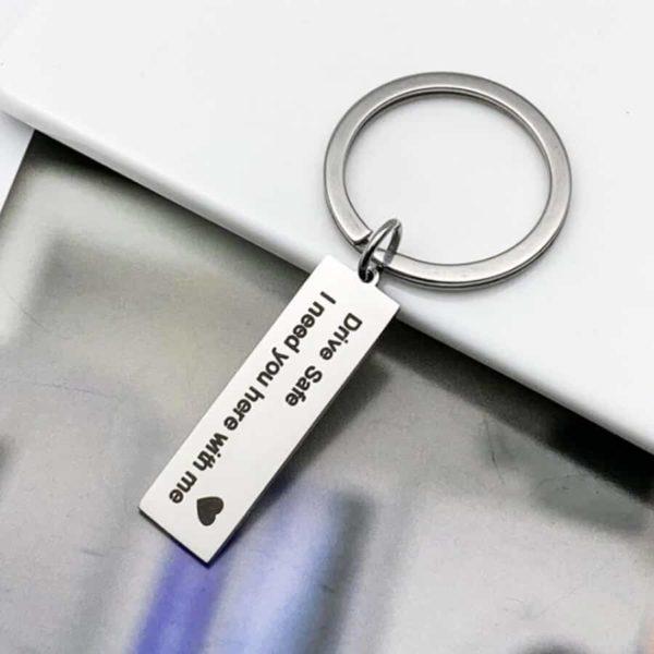 obesek za ključe drive safe with me