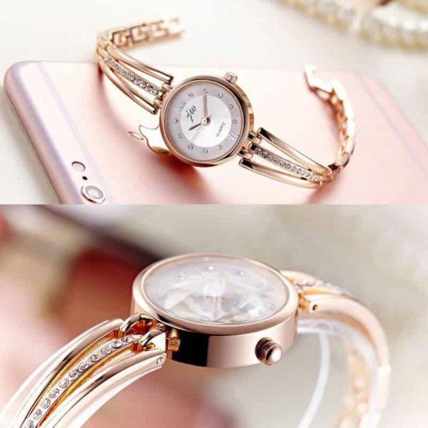ročna ura za ženske s kristali