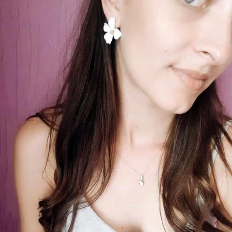 Ženski uhani v obliki rože - Več barv 7