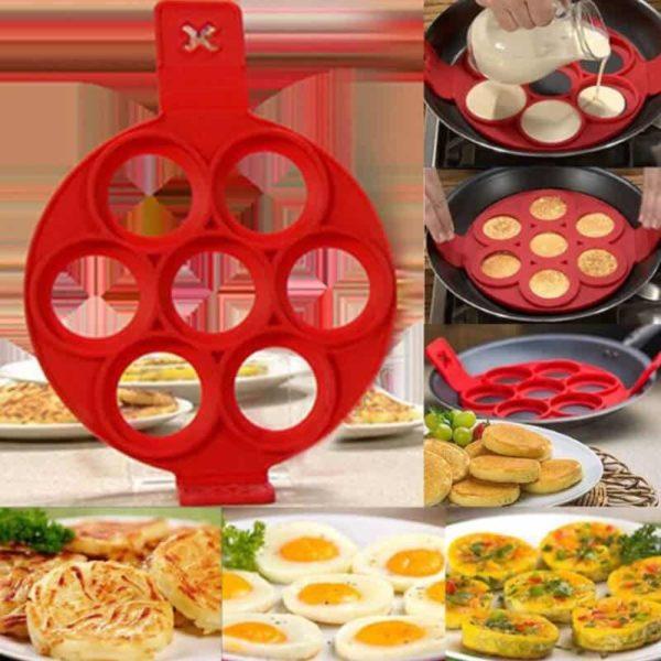 model za palačinke v obliki krogov
